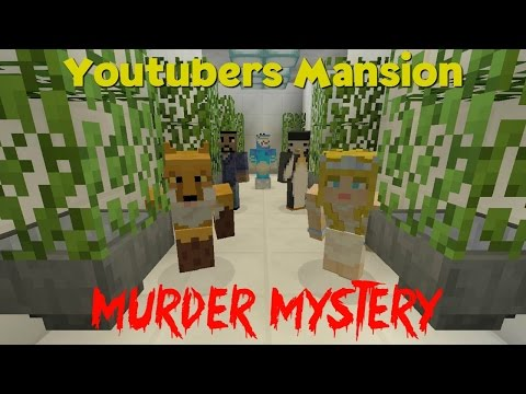 Minecraft XBOX | Murder Mystery | Youtuber's Mansion // Two Ant's!!???!!