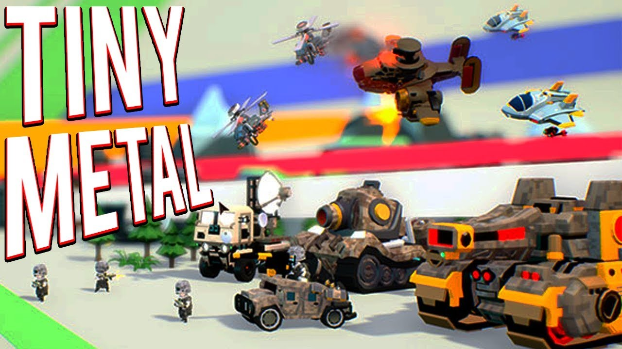 The Next Advance Wars Turn Based Strategy Game Tiny Metal Gameplay Youtube