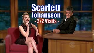 Scarlett Johansson - Just A Giant Plate Of Beautiful - 2/2 appearances In Chron. Order [HD]