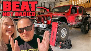 CRACKED FRAME! We Review & Repair the Trail Damage On Our Jeep!