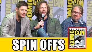 Video SUPERNATURAL SPIN-OFF Details Revealed At Supernatural Comic Con 2017 Panel download MP3, 3GP, MP4, WEBM, AVI, FLV Juli 2017