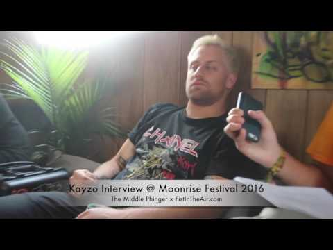 Kayzo Interview @ Moonrise Festival 2016