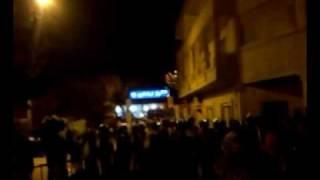 احتجاجات امام مركز اشمون منوفية