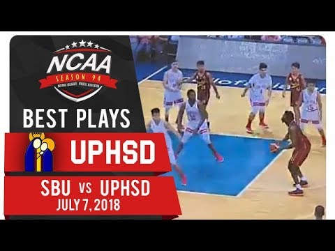 NCAA 94 MB: Prince Eze channels KG with the long 17-footer! | UPHSD | Best Plays