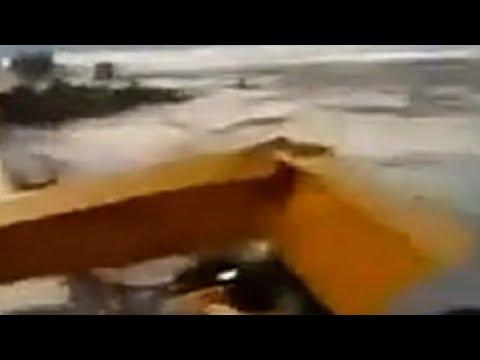Kondisi Jembatan Ikon Kota Palu yang Roboh Pasca-gempa