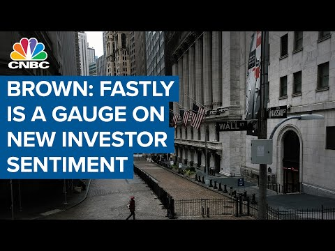 Josh Brown: Fastly is a gauge on the sentiment of the new investor