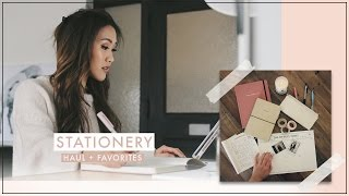 Stationery Haul + Favorites | ilikeweylie