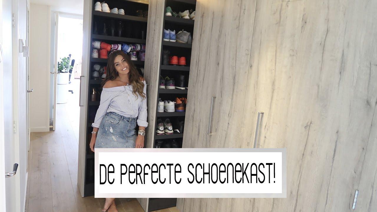 Onwijs DE NIEUWE SCHOENENKAST IS AF! 👠| Laura Ponticorvo | VERHUISVLOG IG-57