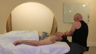 Full Chest & Breast Massage Demonstration on Male Client