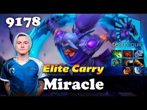 Miracle Anti Mage [Elite Carry] | 9178 MMR Dota 2
