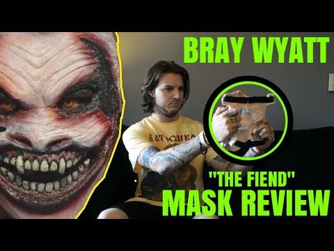 BRAY WYATT 'THE FIEND' MASK UNBOXING/REVIEW! (+bonus unboxing!)