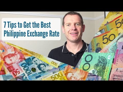 7 Tips To Get The Best Philippine Exchange Rate!