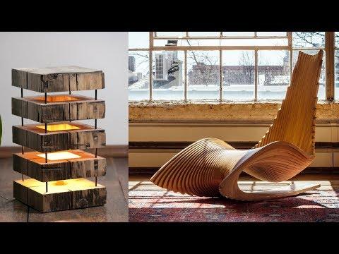 50 Невероятной Мебели Из Дерева! Вы НЕ ВИДЕЛИ Еще Такого