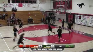 Monte Vista vs San Ramon Valley High School Girls Basketball FULL GAME LIVE 1/17/17