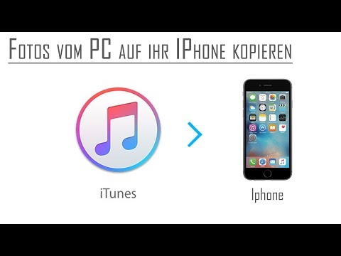 ITunes | Fotos aufs IPhone übertragen | Bilder Synchronisieren | Deutsch
