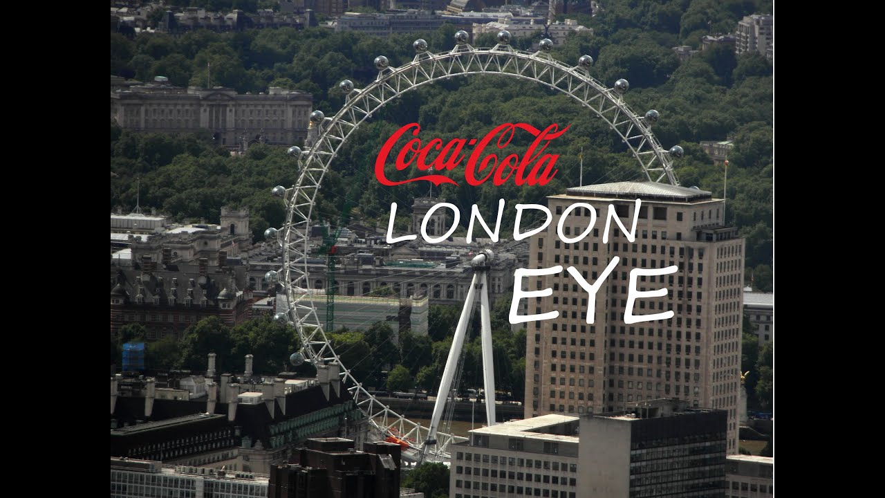 coca cola london eye youtube