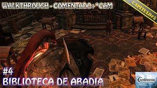 """Castlevania Lords Of Shadow Walkthrough (Comentado+*Cam) """"Biblioteca de Abadia"""""""