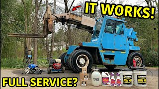 Rebuilding The Worlds Biggest Forklift Part 2