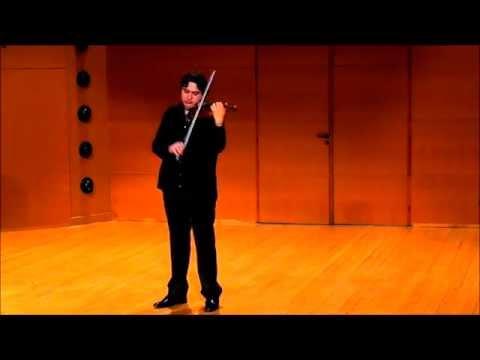 Paganini  Caprice # 1 in E M [HQ] Radu Petrisor Bi
