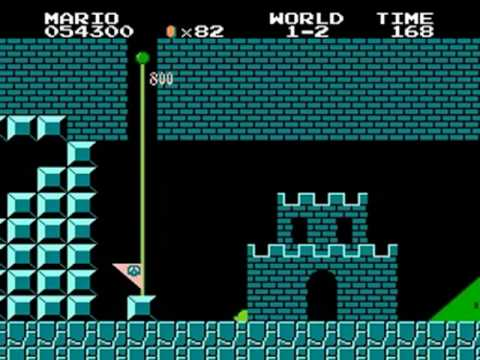 Super Mario Crazy Levels (NES Hack)
