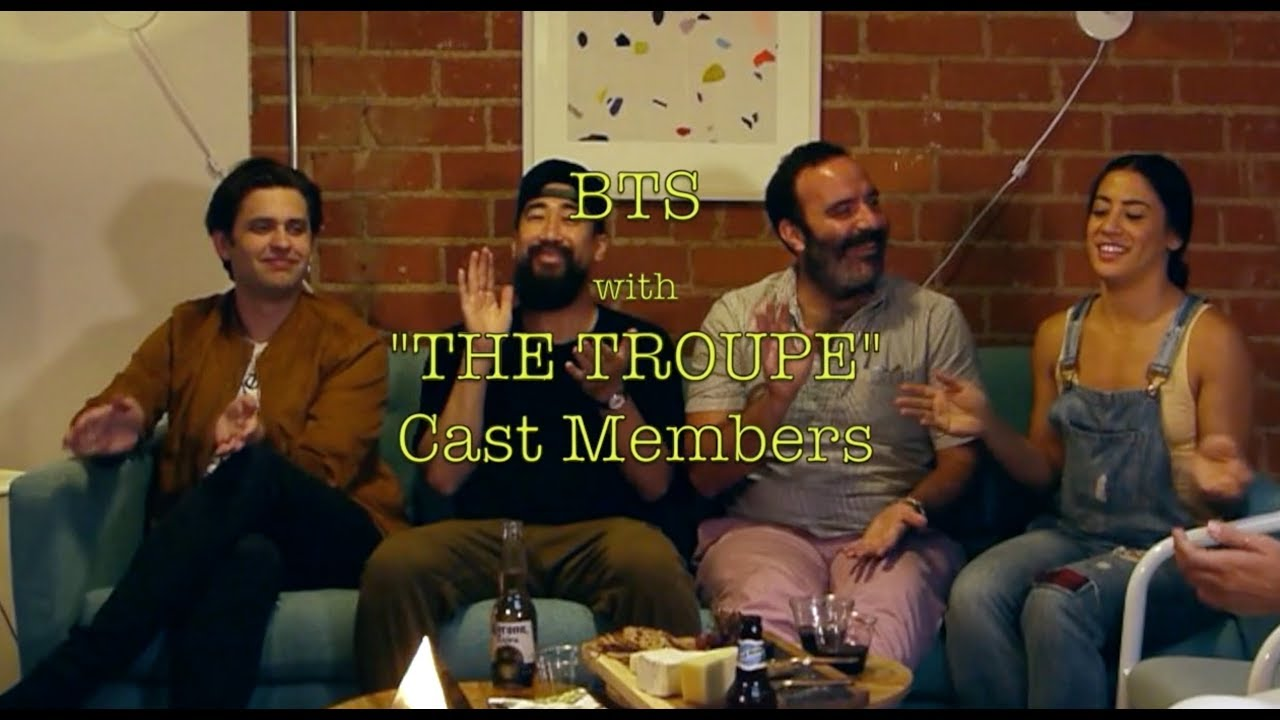 Behind the Scenes with The Troupe Cast members  - IGTV