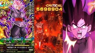 100% POTENTIAL SYSTEM NEW TRANSFORMING INT GOKU BLACK SHOWCASE! Dragon Ball Z Dokkan Battle
