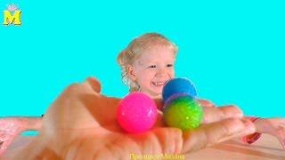 Делаем мячики попрыгунчики или как сделать прыгающий мячик (шарик)