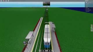 e transport nouveau ruote avec nouveau tram (roblox) (déraillé) :(