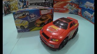 SUPER CARS 3D Unboxing toys fors kids