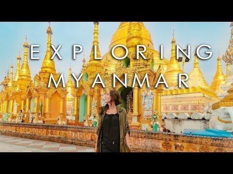 Exploring Myanmar || Anatomie Travel Clothes || DRONE TRAVEL VLOG