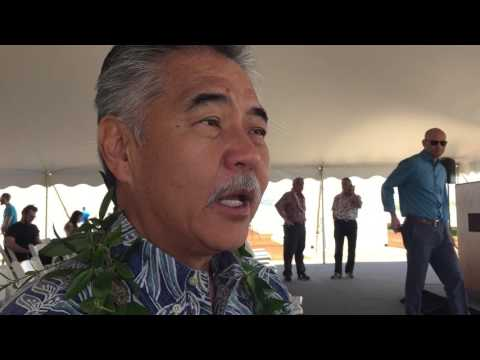 Gov. David Ige outlines education, affordable housing as top priorities