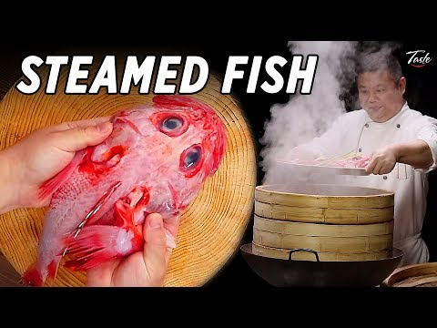 The Tastiest Steamed Fish You'll Ever Eat • Taste Show