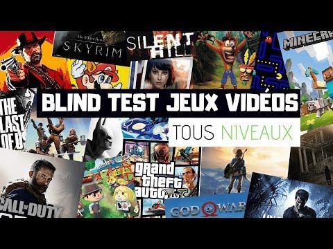 BLIND TEST JEUX VIDEOS - TOUS NIVEAUX (40 EXTRAITS)