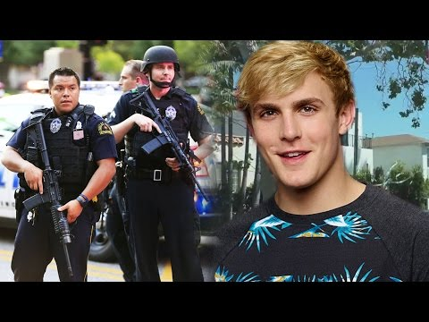 Thumbnail: HATERS VANDALIZE Jake Paul's House! Police SEARCH for Vlogger? SourceFed Gets TAKEN OVER!