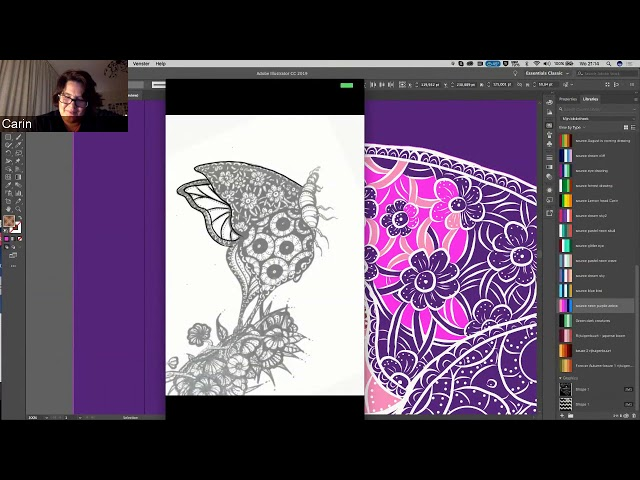Creating Art in Adobe Illustrator with AEL Carin Sleurink | Adobe Education | Adobe Creative Cloud