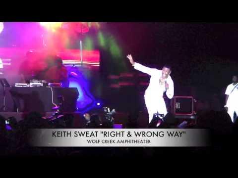 KEITH SWEAT RIGHT & WRONG WAY 2 LOVE
