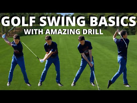 GOLF SWING BASICS – This Amazing golf drill will show you the EASIEST way to Swing a Golf Club