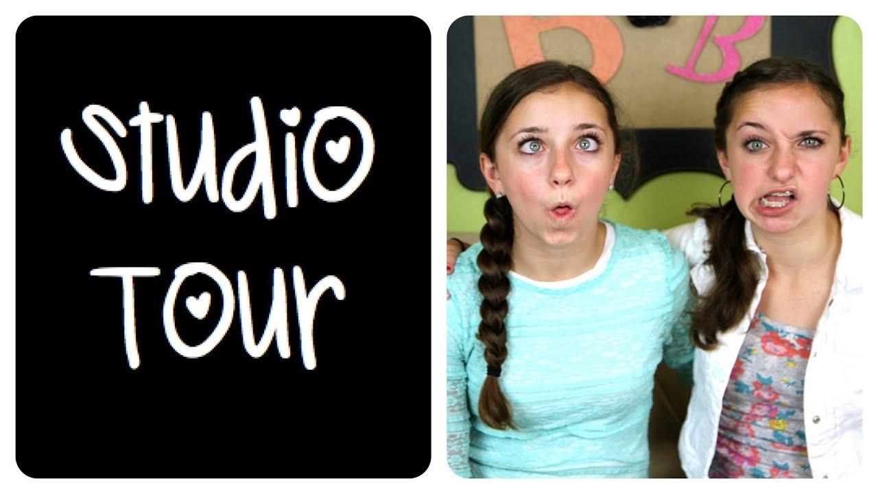 studio tour   brooklynandbailey & cutegirlshairstyles - youtube