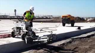 Video still for A-2C Concrete Dowel Pin Drill on an Airport Project