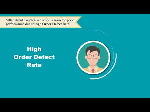Amazon Seller Performance & Account Health - Overview of Order Defect Rate