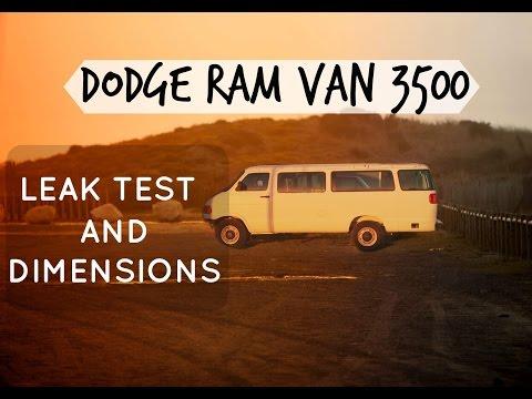 Dodge Ram Van 3500 Camper