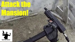 Attack the Mansion! - Wasaga Beach Paintball (TiPX gameplay)