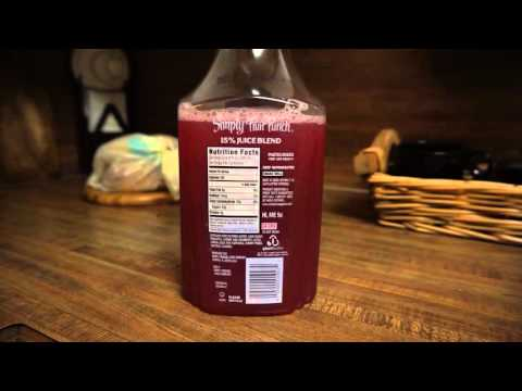 Simply Fruit Punch review:  Watered down crap