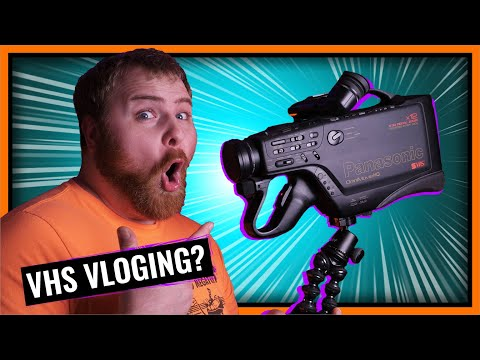 Can You Vlog With A VHS Camcorder In 2019?