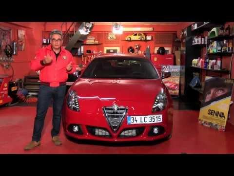 Alfa Romeo - Saffet Üçüncü Giulietta Test Sürüşü