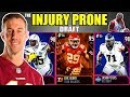 THE INJURY PRONE DRAFT! PLAYERS WITH THE MOST MISSED GAMES IN EVERY ROUND! Madden 19 Draft Champions