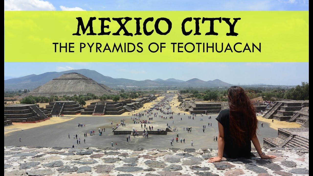 Pyramids Of Teotihuacan Mexico City