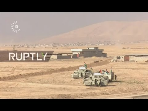 TAPE FEED: Operation to seize Iraqi city of Mosul gets underway