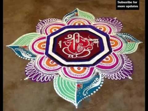 Simple Rangoli Designs Rangoli For Sankranthi| Picture Of Floor ...