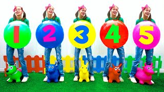 Five little monkeys 🙈 동요와 어린이 노래 | Kids Song | Maya and Mary
